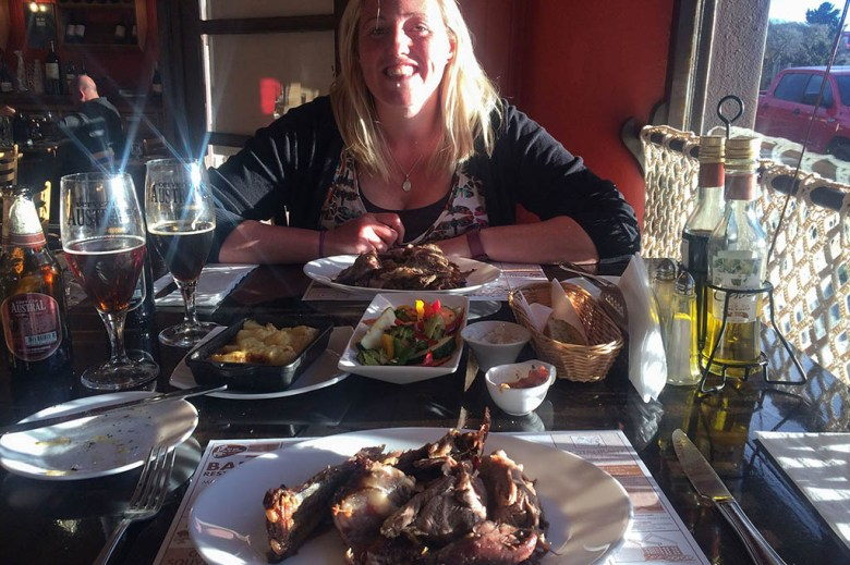 After completing the W Trek we treated ourselves to a Chilean BBQ meal in Puerto Natales