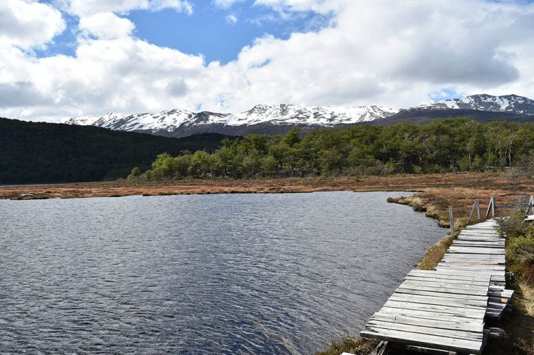 The Black Lagoon is one of many moody scenic spots on Río Lapataia in Tierra Del Fuego National Park