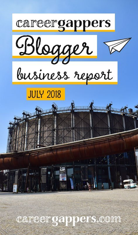 Each month I report on my progress as I attempt to transform my travel blog into a thriving business. This is my business report for July 2018.