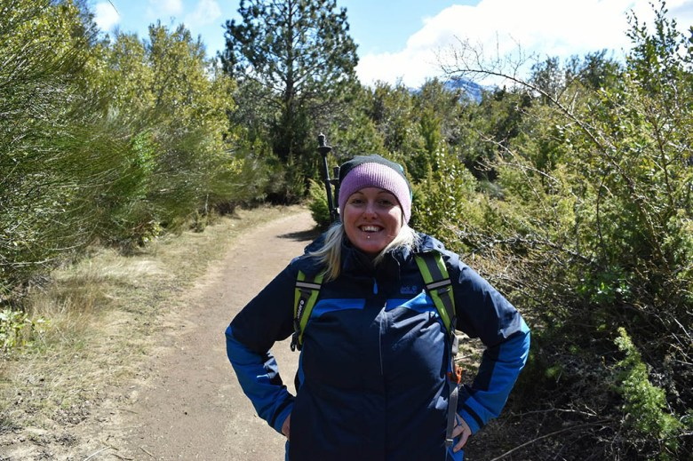 Each section of the trekking loop circuit in Parque Municipal Llao Llao can be done as a separate individual hike