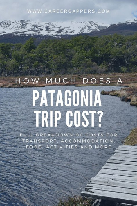 A full breakdown of our Patagonia trip cost, including food & drink, transport, accommodation and activities, plus useful tools for planning your budget. #patagonia #travelmoney #budgettravel #patagoniatravel #visitpatagonia