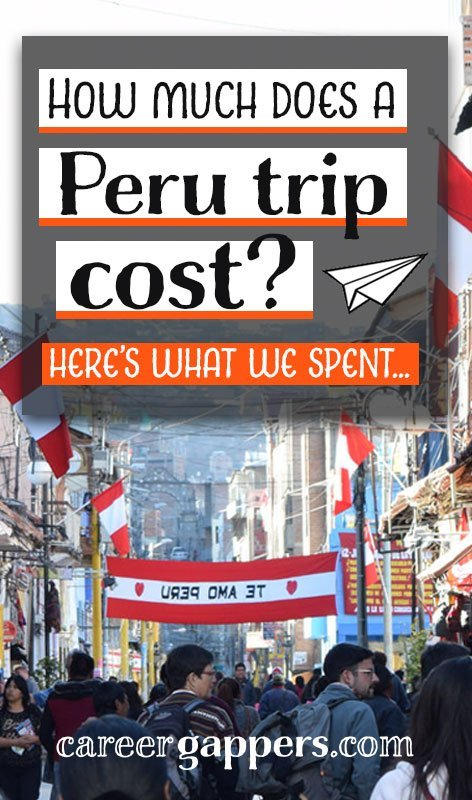 We travelled in Peru for 28 days on a medium budget, keeping track of everything we spent on the way. This breakdown details how much our Peru trip cost.