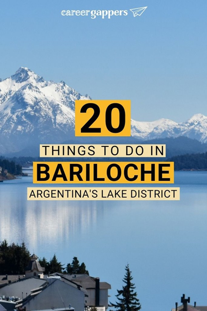 The best things to do in Bariloche to discover the city and Nahuel Huapi National Park. Including hiking, tours, food and drink, history and more. #bariloche #nahuelhuapi #argentinatravel #sancarlosdebariloche #visitbariloche