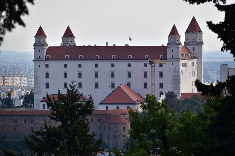 Bratislava Castle is one of the city's most storied buildings and a highlight of the city skyline
