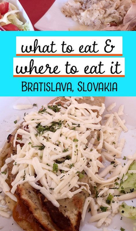 Slovakian food is hearty and delicious. After three days in the capital city, here's our guide to the best national dishes and where to eat in Bratislava.