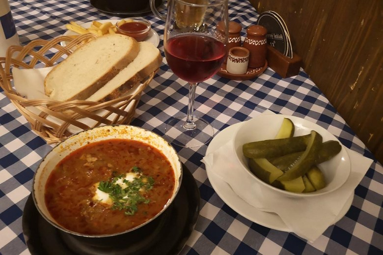 Slovak Pub is a great place to try local dishes like kapustnica, a hearty soup of sauerkraut and smoked sausage