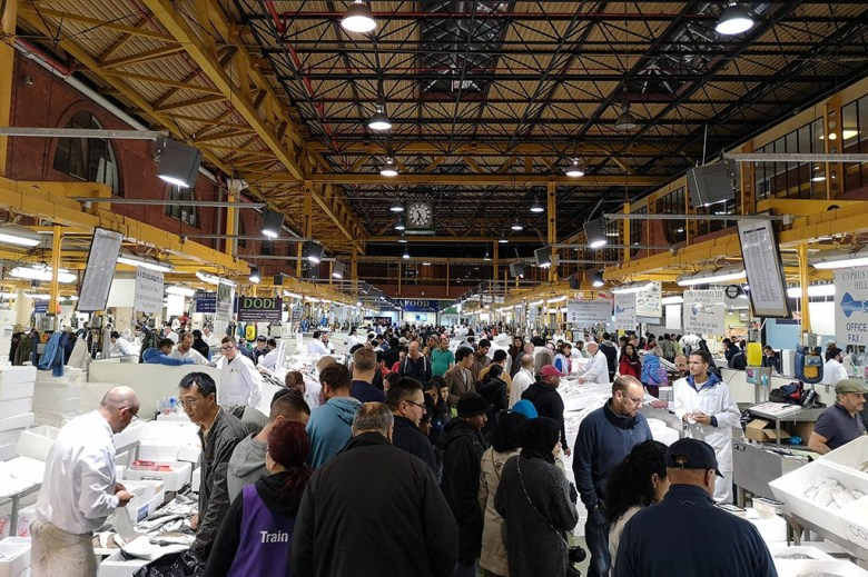 Billingsgate Fish Market is one of many great local food markets near us in London