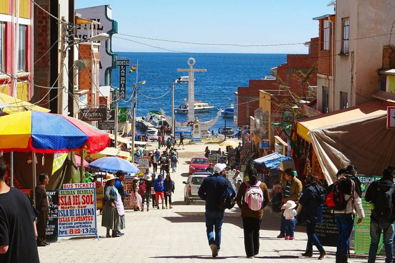 Our two-week Bolivia trip began in the town of Copacabana on the shores of Lake Titicaca