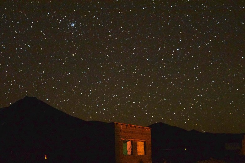 The night skies at Huayllajara were spectacular on the last night of our Salar de Uyuni tour