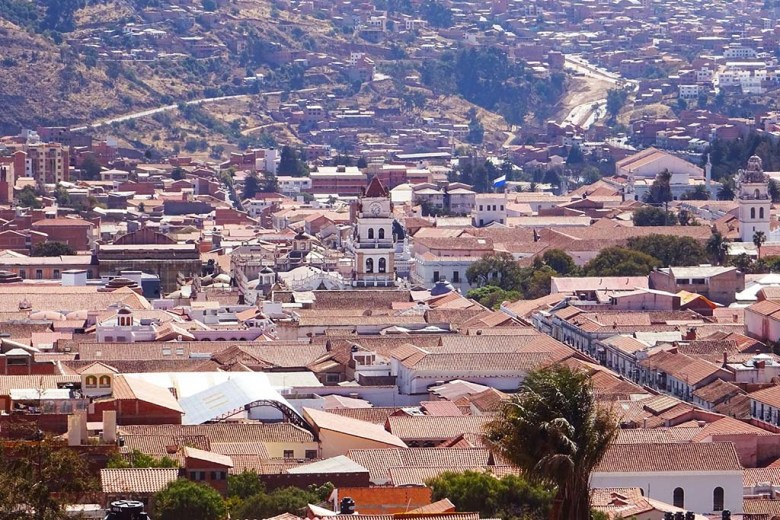 Recoleta provides a beautiful panoramic view of the city of Sucre, a UNESCO World Heritage Site