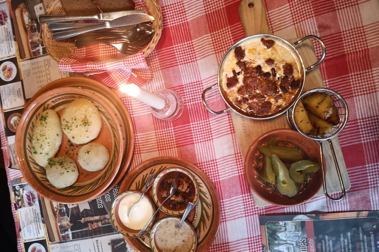 Vilnius has dozens of great restaurants where you can try authentic Lithuanian food