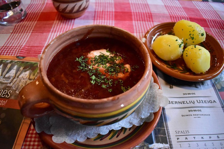 Soup is an integral part of Lithuanian cuisine and considered vital to good health in the country