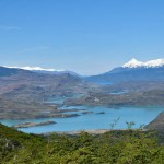 Chile lakes in Torres Del Paine