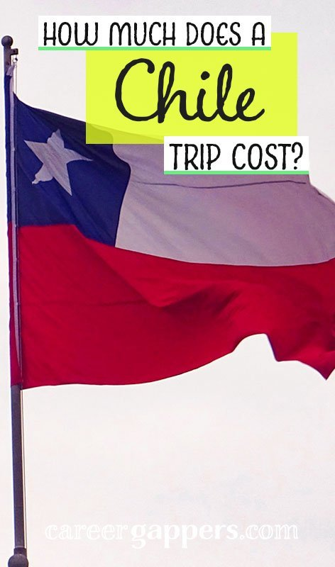 How much does a Chile trip cost? We break down our spending in detail after travelling through this beautifully diverse country for 23 days. South America | travel destinations | travel budgets and money | career gappers blog