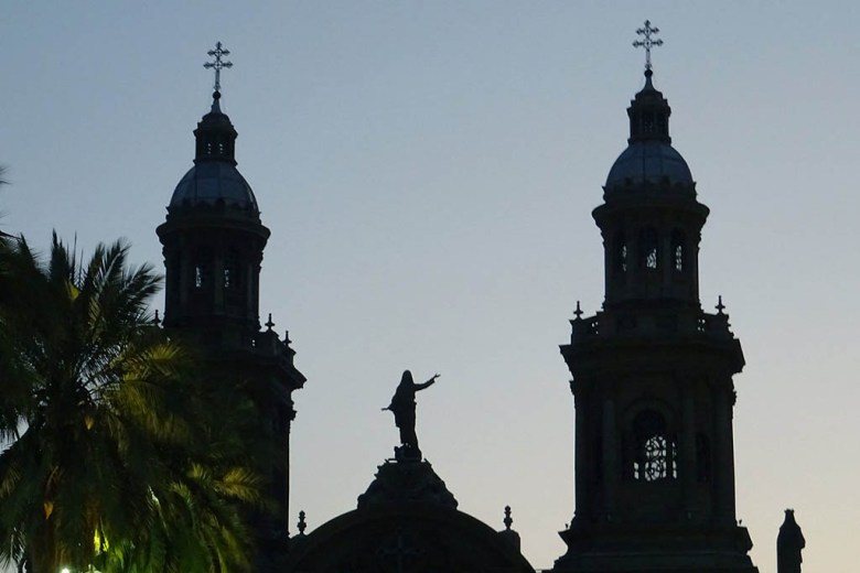 Exploring the city sights around Plaza de Armas is one of the best things to do in Santiago, Chile