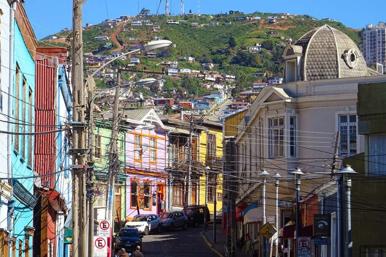 The final stop in this two-week Chile itinerary is the coastal city of Valparaíso, before returning to Santiago