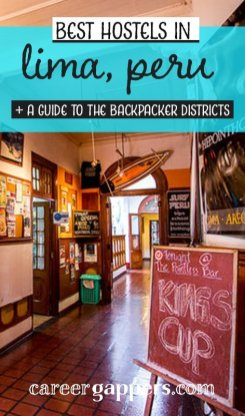 Looking for places to stay in Lima on a budget? We've compiled our recommendations on the best hostels in Lima with a guide to the backpacker districts. #limahostels #lima #southamerica #traveldestinations #accommodation #hostels