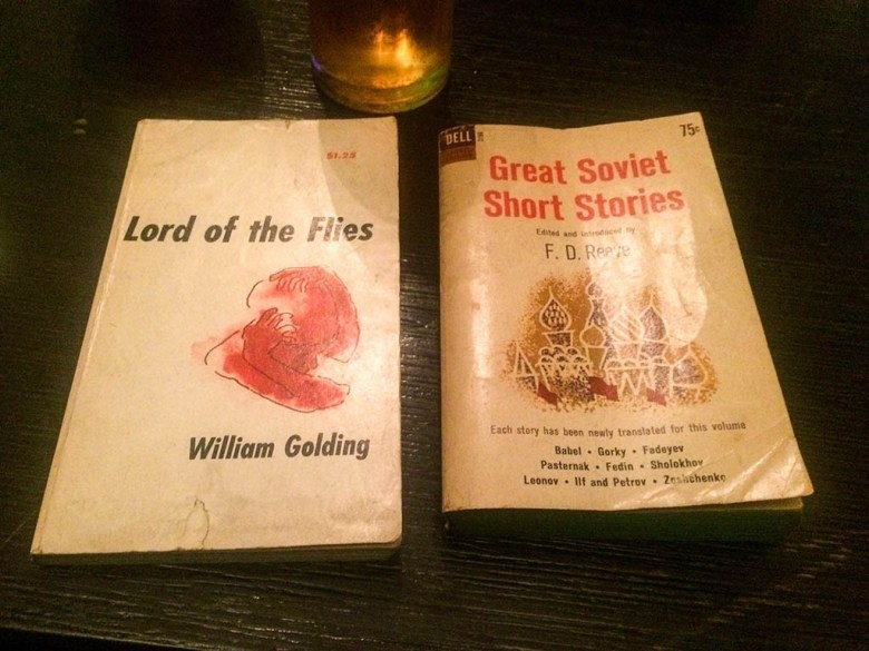 We picked up some old classics in San Telmo's book shops to read on our long bus journeys