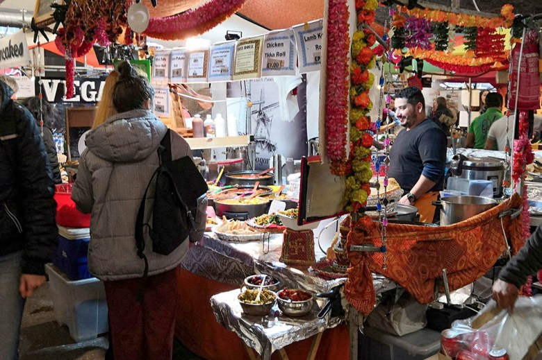 The Sunday Upmarket on Brick Lane brings together street food vendors from around the world