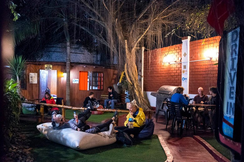 Located on the clifftops of Barranco, The Point Lima is a party hostel with regular events in its bar