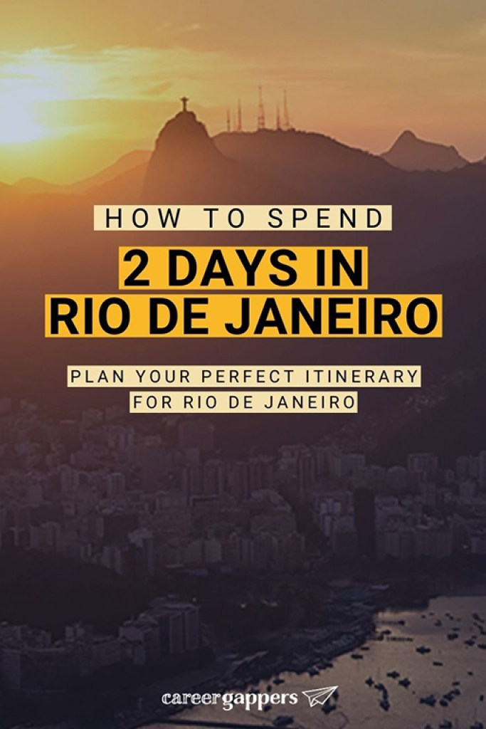 This Rio de Janeiro itinerary for 2 days shows how you can see the highlights of one of the world's greatest cities in a short visit. #brazil #rio #riodejaneiro #travelitinerary #traveldestinations