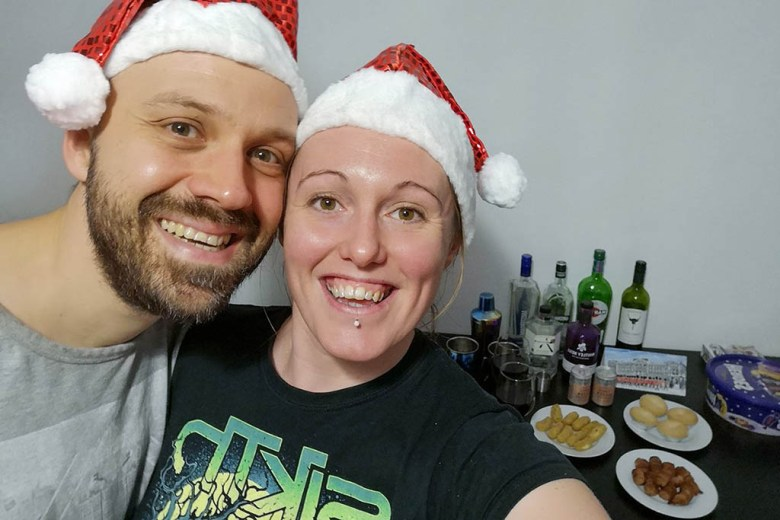 Not wanting to miss out on any festive fun, we held our very own office Christmas party