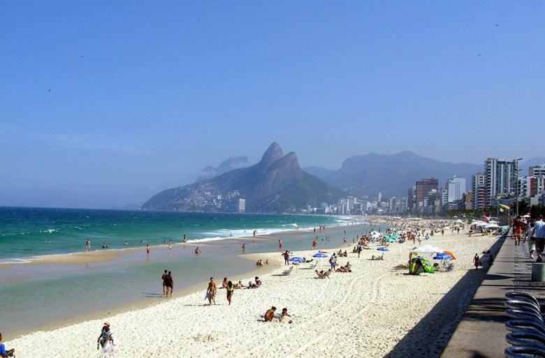 Ipanema is one of Rio de Janeiro's many beautiful beaches