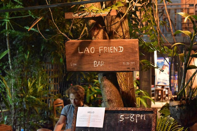 Lao Friend Bar puts its profits towards rebuilding a flood-damaged village