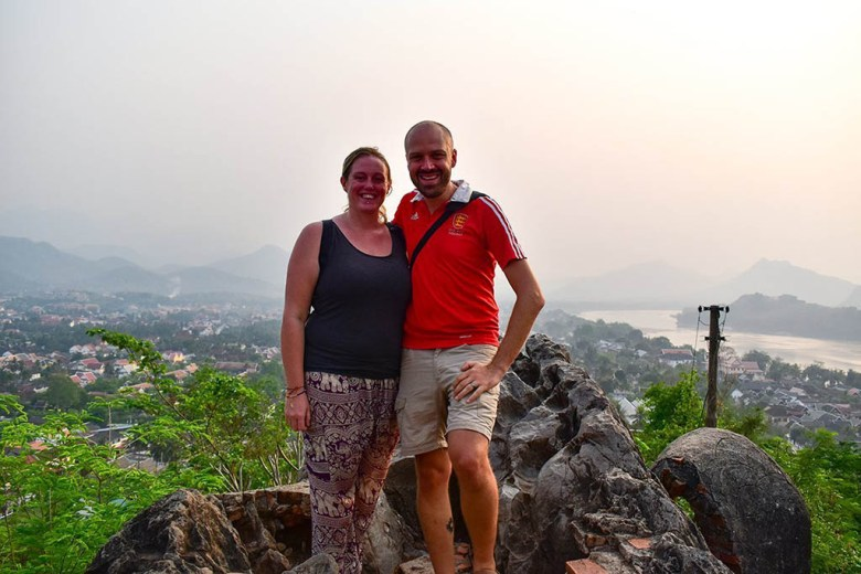 The summit of Mount Phou Si offers the best 360 views around Luang Prabang