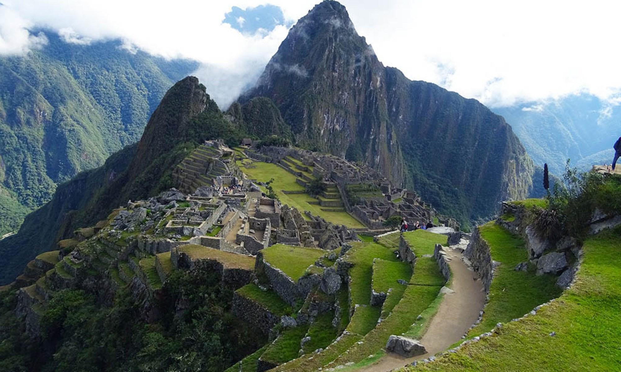 Machu Picchu Inca Trail view