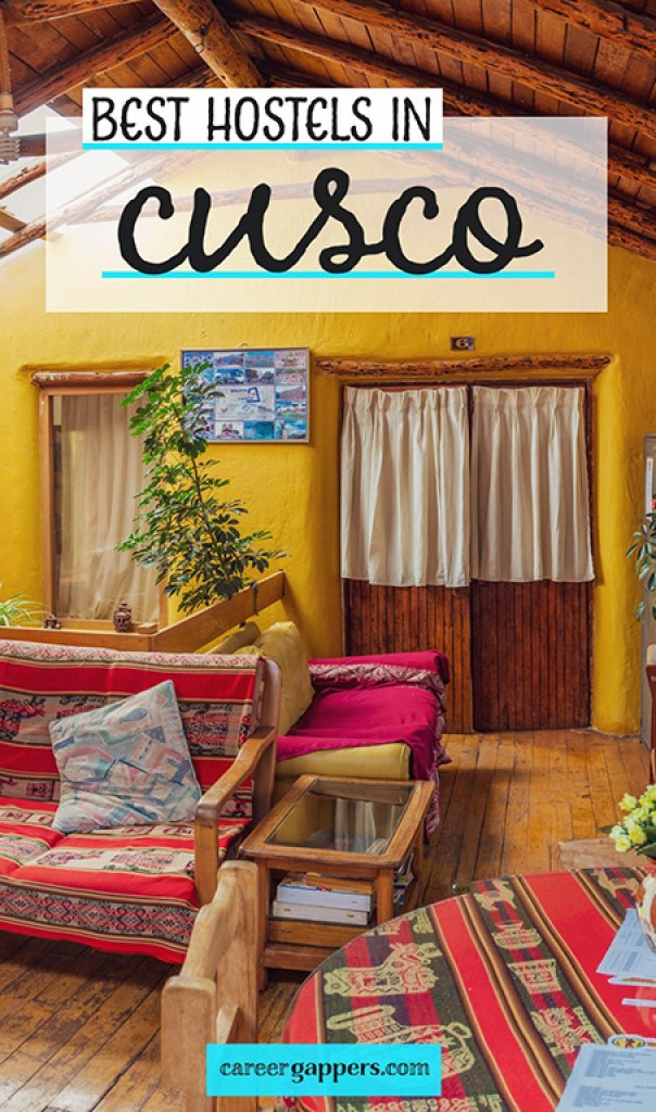 Are you planning to hike the Inca Trail or another route in the Cusco region? These are the best hostels in Cusco to choose as your base for trekking. #cusco #incatrail #cuscohostels #hostels #perutravel