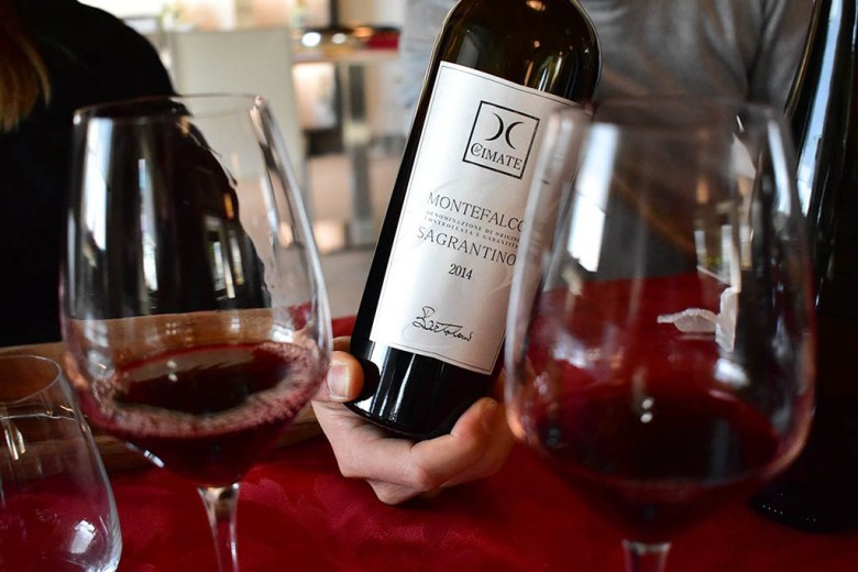 Cantina Le Cimate's Montefalco Sagrantino DOCG has a strong, rich character and a lasting taste