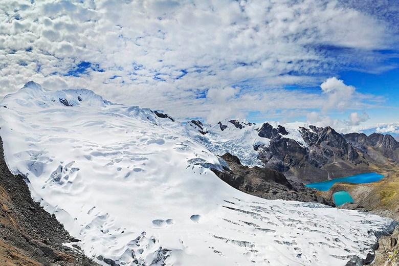 The Huaytapallana mountain range