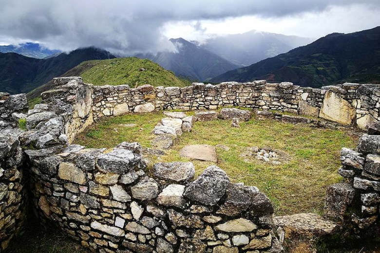 The Kuélap ruins in the Chachapoyas region of Peru