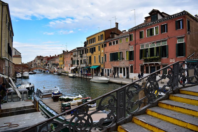 Venice is home to 150 canals and over 400 bridges