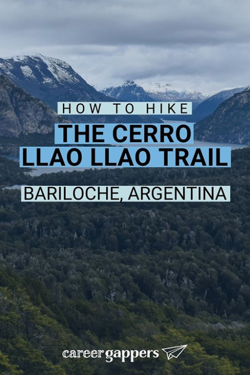 The Cerro Llao Llao trail is one of the best day hikes from Bariloche in Nahuel Huapi National Park. This guide explains all you need to know before you go. #cerrollaollao #llaollao #bariloche #barilochetrekking #dayhikes