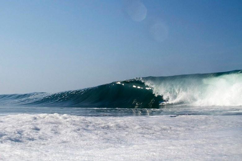 Surfing in Lima Peru