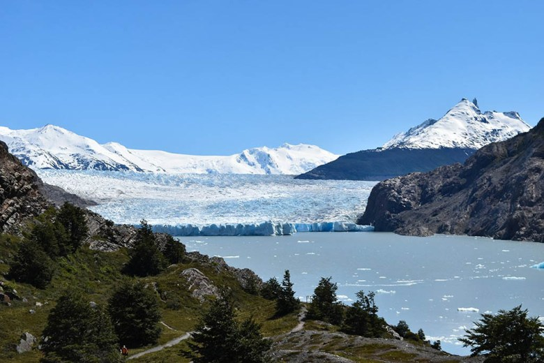 The return route from Paine Grande to Grey Glacier is one of the classic Torres Del Paine day hikes