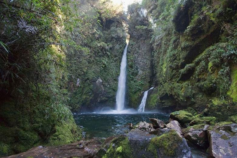 Pumalin Park waterfall