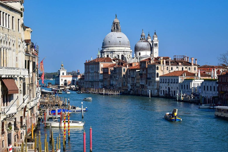 Venice Grand Canal Europe