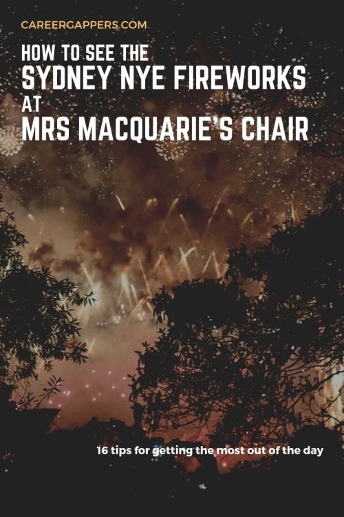 Mrs Macquarie's Chair is one of the best Sydney NYE vantage points for backpackers on a budget. Here are 16 top tips to make the most of your special day. #sydneynye #nyesydney #mrsmacquarieschair #mrsmacquariespoint #sydnye