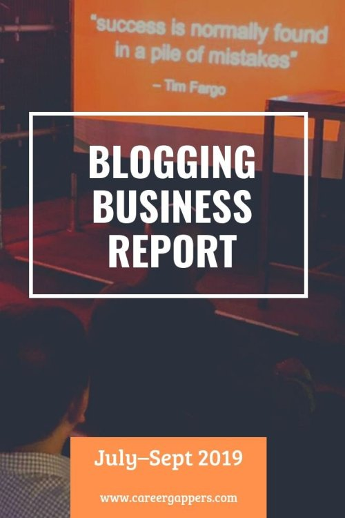 Every three months we report on progress as we attempt to build a thriving travel blogging business. This is our business report for July–September 2019. #blogging #incomereport #businessofblogging #travelblog #businessreport