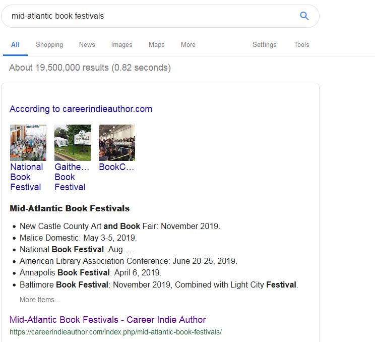 Get On Google Front Page
