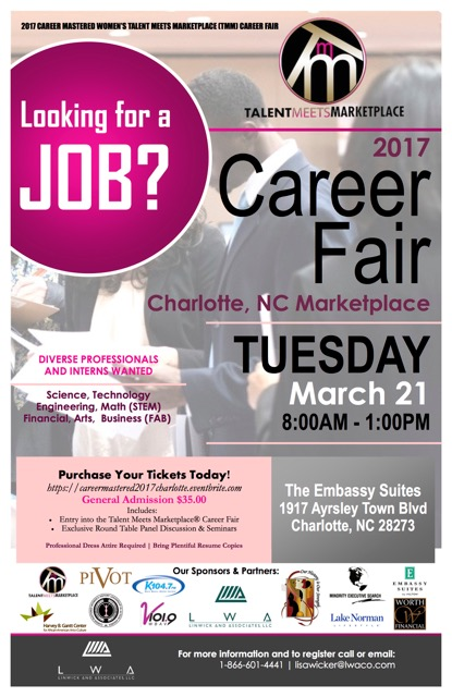 Talent Meets Marketplace Career Fair - Career Mastered
