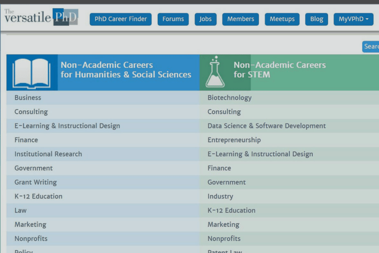 Featured Resource: Versatile PhD