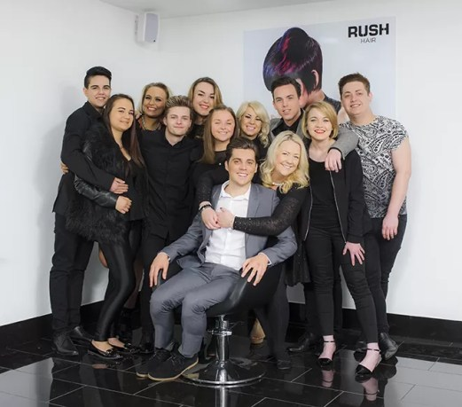 Rush Hair Brentwood Team