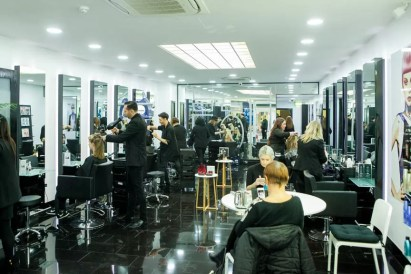 Busy Rush Birmingham salon on the opening day
