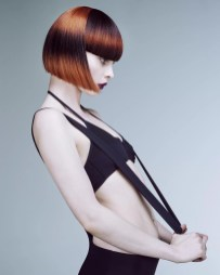 Rush Artistic Team's final collection for the British Hairdressing Awards 2015