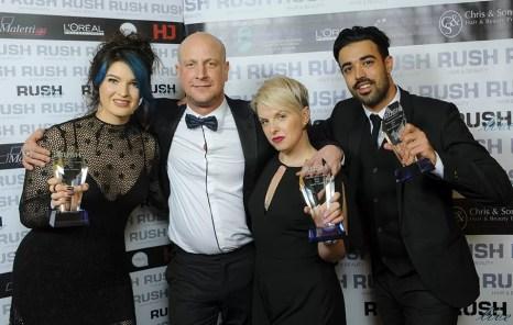 Shelley Summer, Andy Heasman, Aneta Adulfe & Ryan Humpage
