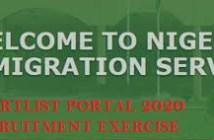 NIS Shortlist portal